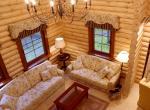 Деревянная отделка загородного дома