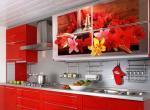 Кухни с фотопечатью и аэрографией
