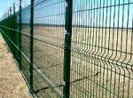 Строим забор из металлической сетки