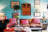 Декорируем стены и потолки