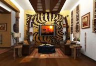 Экзотический африканский стиль