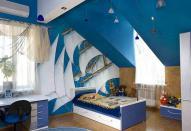 Интересный дизайн детской комнаты