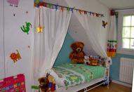 Текстильное декорирование для детской комнаты