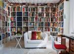 Декорирование домашней библиотеки