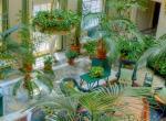Декорирование с помощью мебели и растений