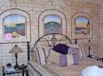 Декорирование стен в спальне