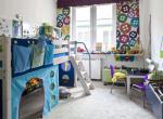 Интерьер детской комнаты.