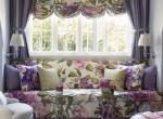 Использование цветочных узоров в декорировании квартиры