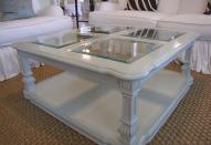 Декор мебели зеркальной плиткой