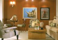 Декор гостиной в морском стиле