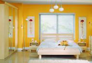 Декорирование маленькой спальни
