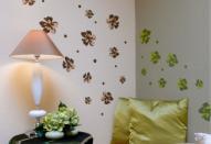 Декорирование стен обоями