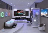 Дизайн помещений санузел и ванная
