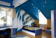 Элементы морского стиля в интерьере помещения