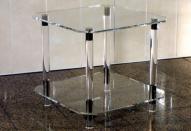 Использование в интерьере мебели из акрилового стекла