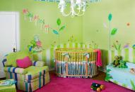 О декорировании детской комнаты