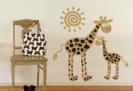 Создание декора детской комнаты с помощью наклеек
