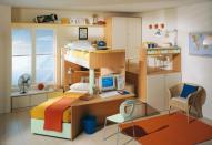 Создание интерьера детской комнаты для двоих детей