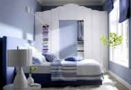 Стилистические приемы в оформлении маленькой спальни